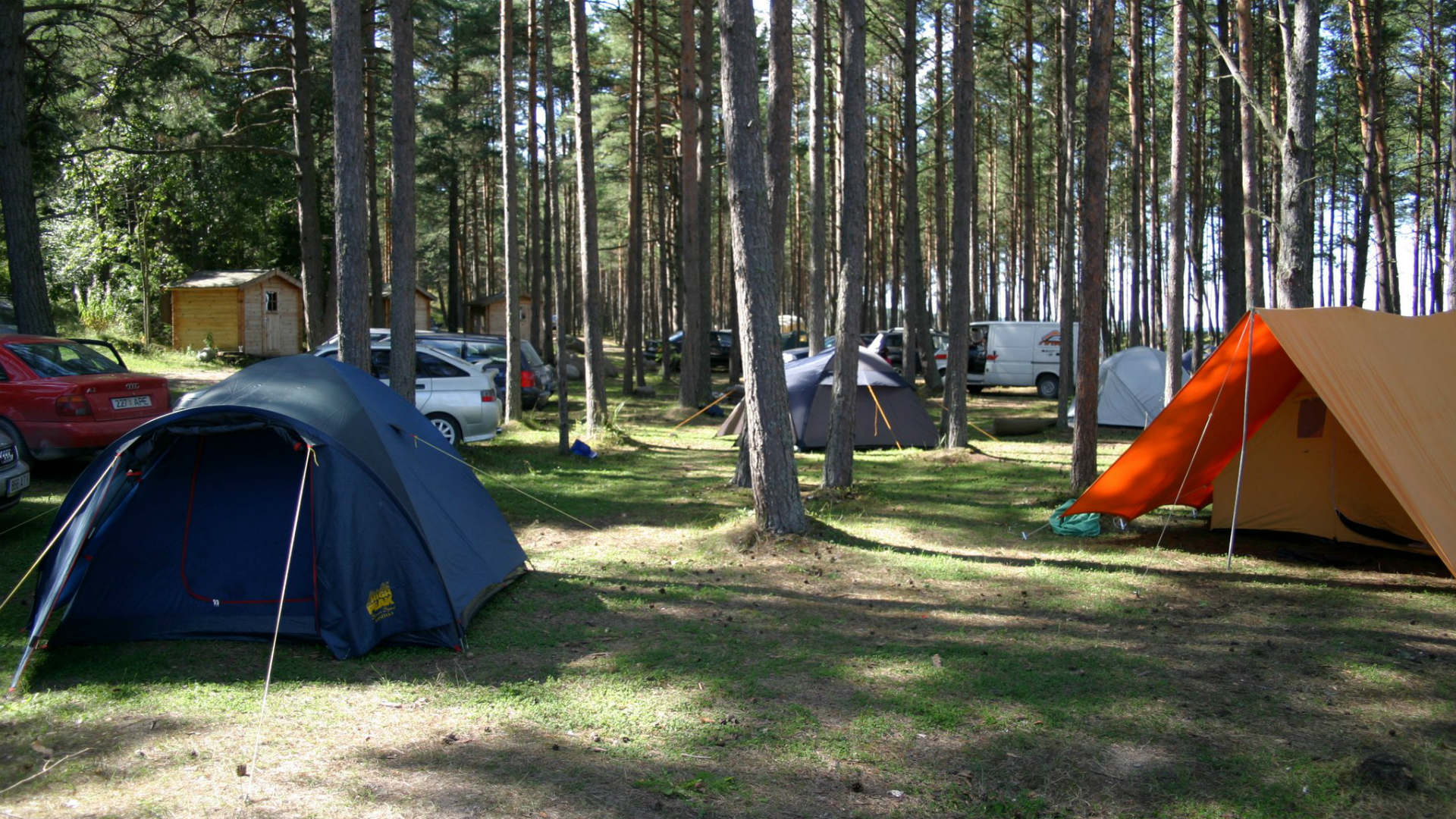 Camping, Tent place