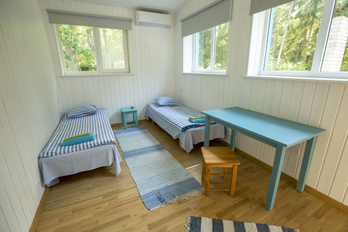 Forest house room for 2