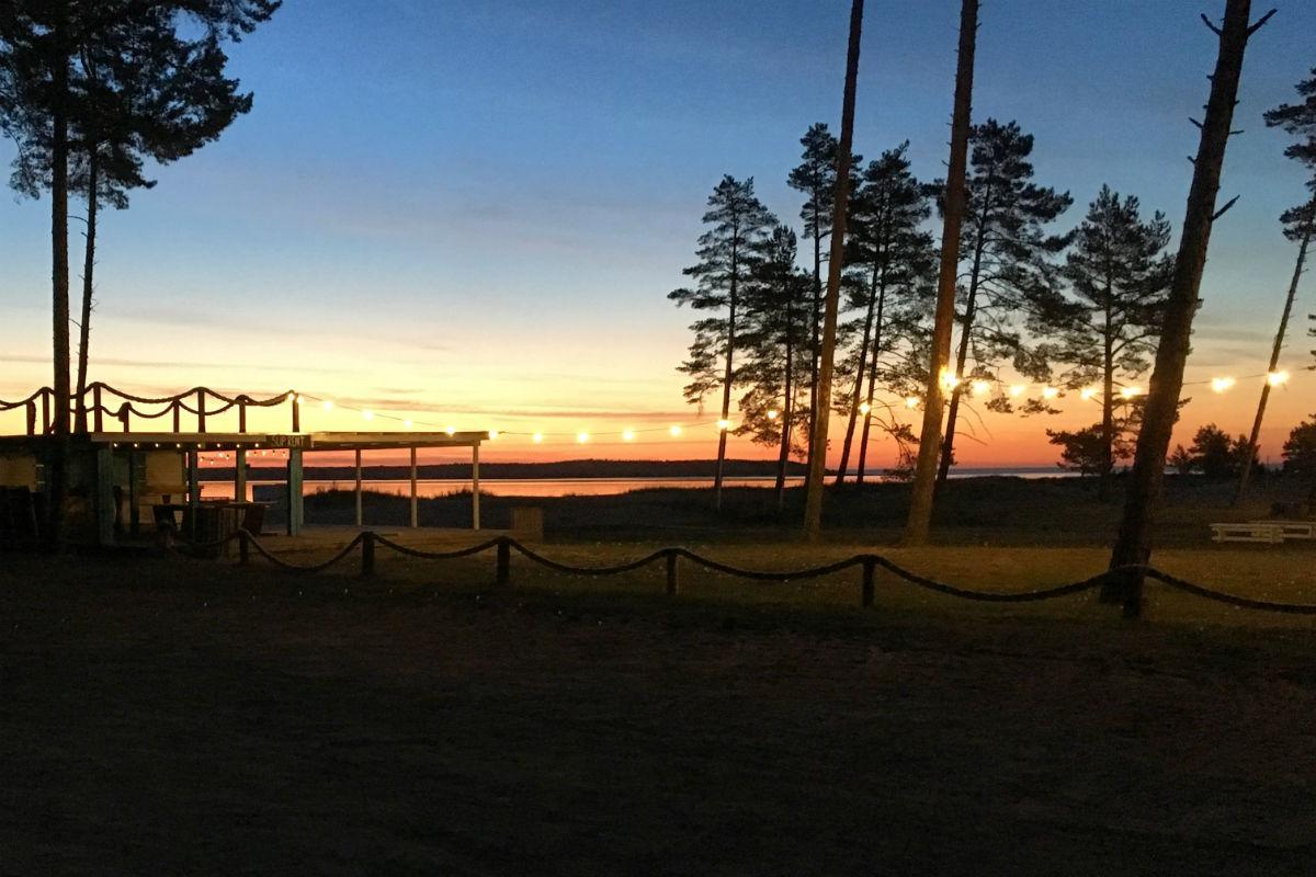 Muinastulede öö Valkla rannas